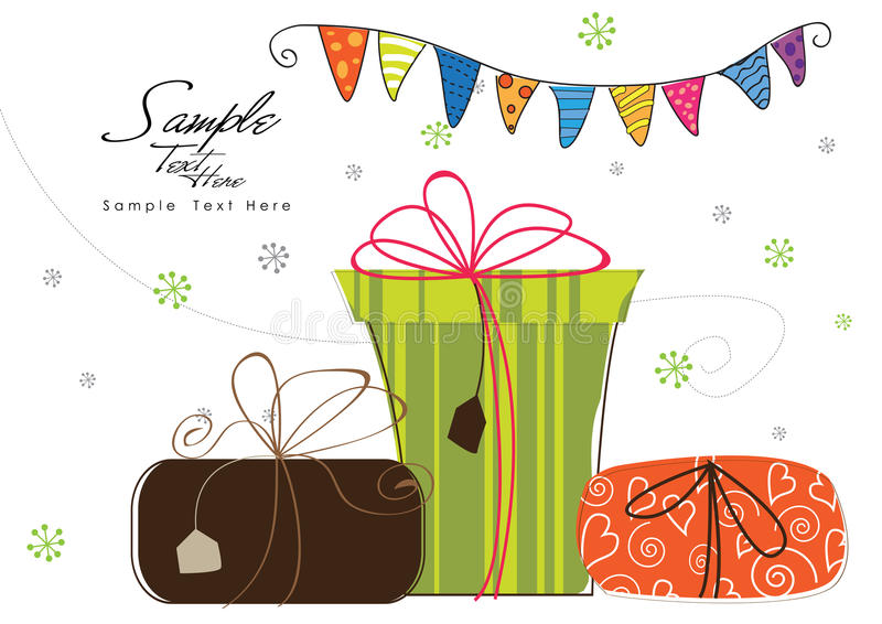 Lets Party! royalty free illustration