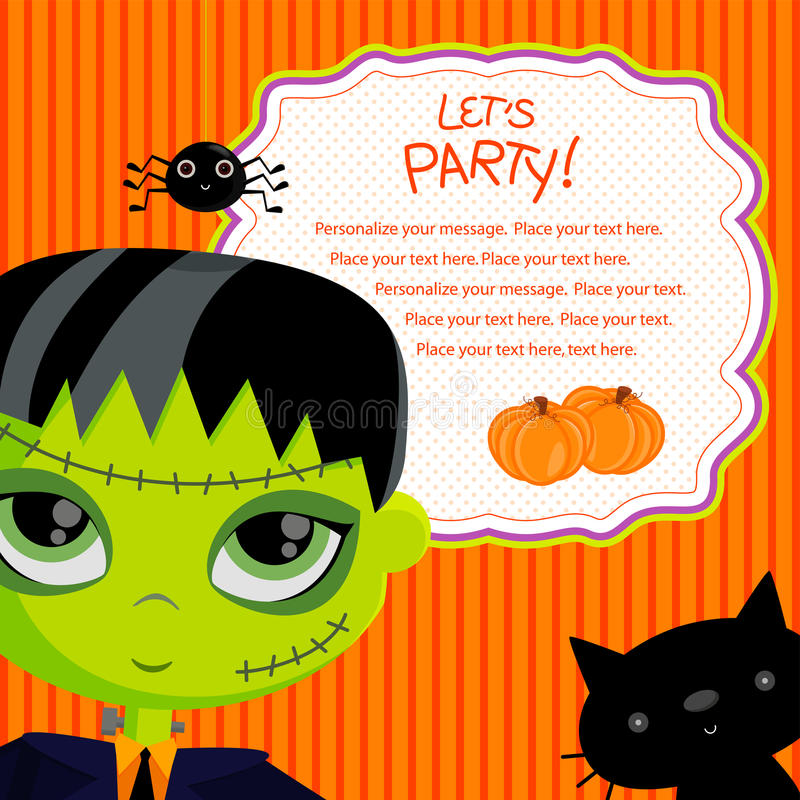 Download Let's party_frankie stock vector. Image of halloween - 26833196