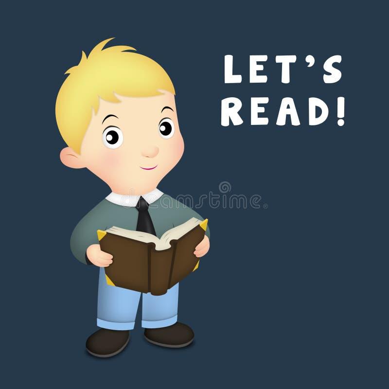 Download Let's Read stock illustration. Illustration of child - 25044335