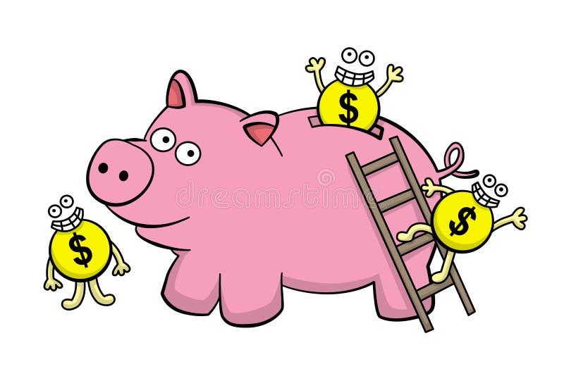 Download Let's save stock illustration. Image of invest, save - 25896558