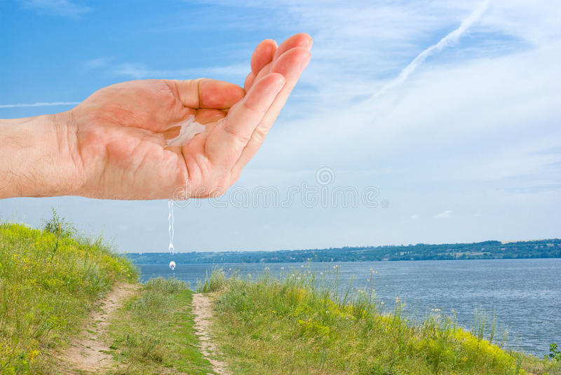 Download Let's save water source stock image. Image of main, path - 19643041