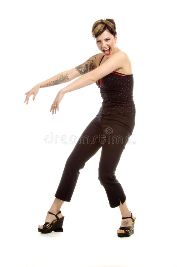 Let's shake it royalty free stock images