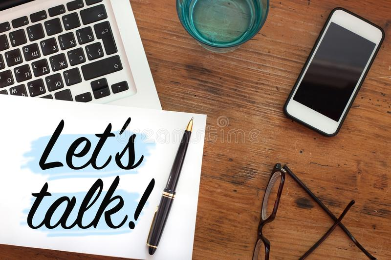 Let`s talk stock photography