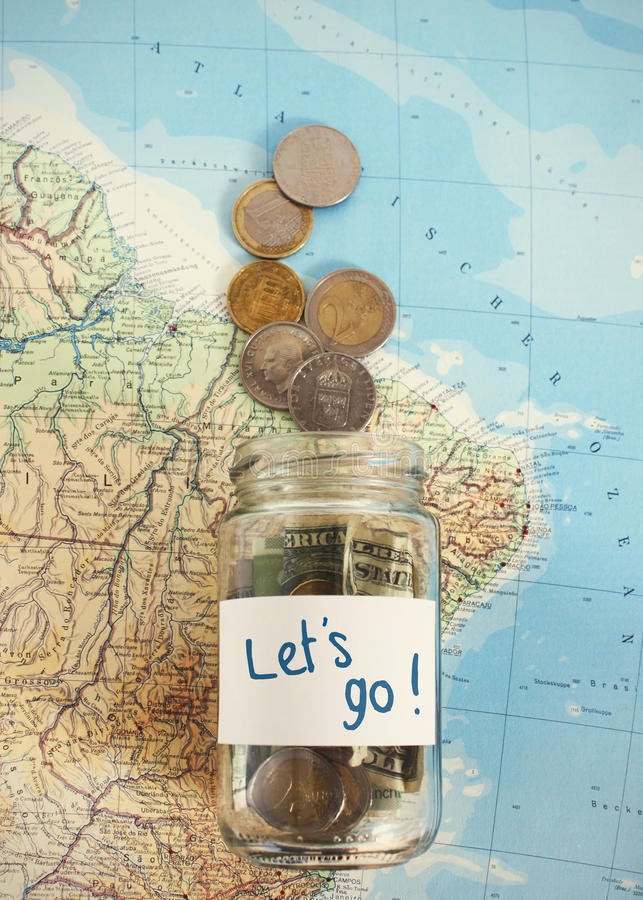Download Let's Travel - Vacation Budget Stock Photo - Image of wanderlust, piggy: 54562974