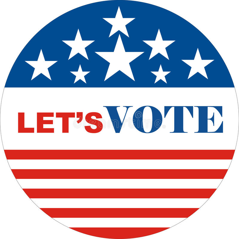 Download Let's Vote Royalty Free Stock Images - Image: 22688919