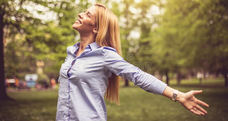 Let your happiness in your life. royalty free stock photo