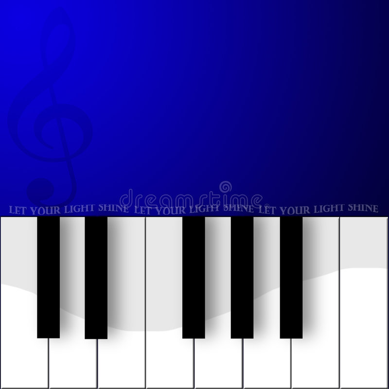 Download Let your light shine stock illustration. Image of pianokeys - 88029