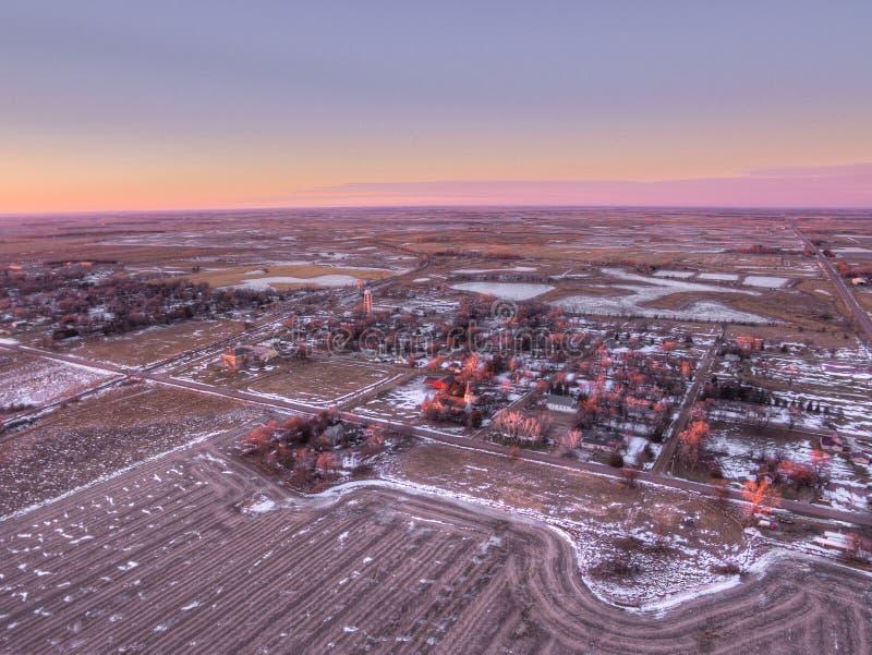 Letcher jest Małym Południowym Dakota miasteczkiem fotografia royalty free