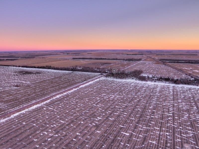 Letcher jest Małym Południowym Dakota miasteczkiem zdjęcie stock