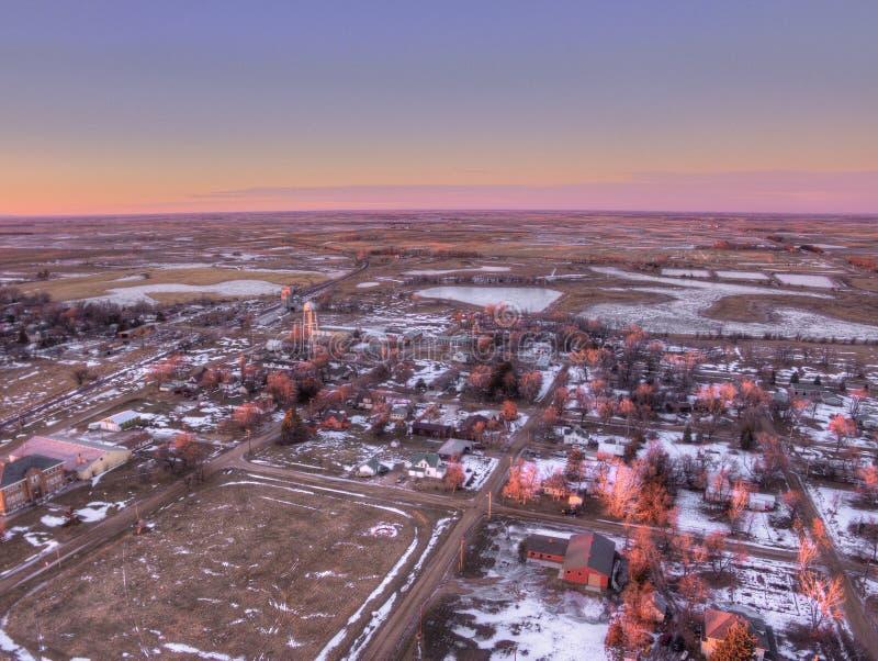 Letcher jest Małym Południowym Dakota miasteczkiem zdjęcia royalty free