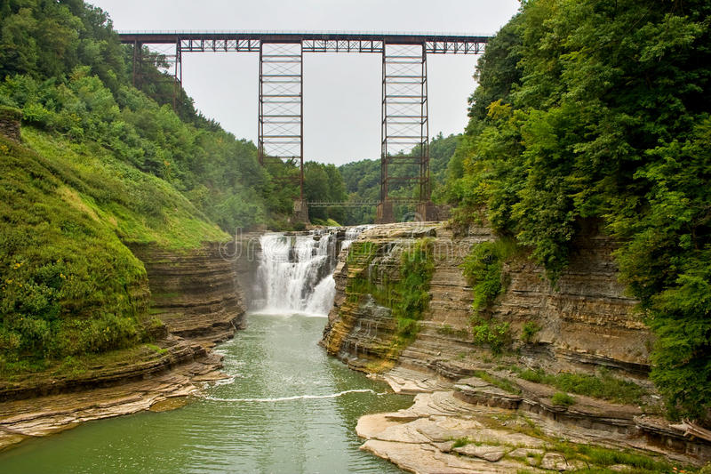 Letchworth state park royalty free stock image