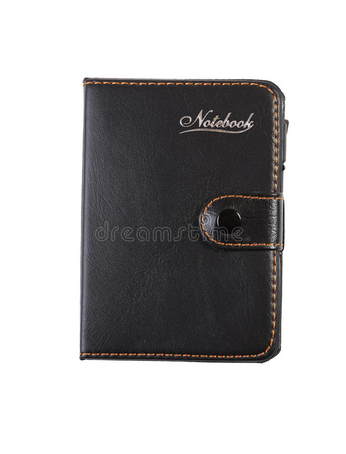 Download Lether Notebook Stock Image - Image: 18674841
