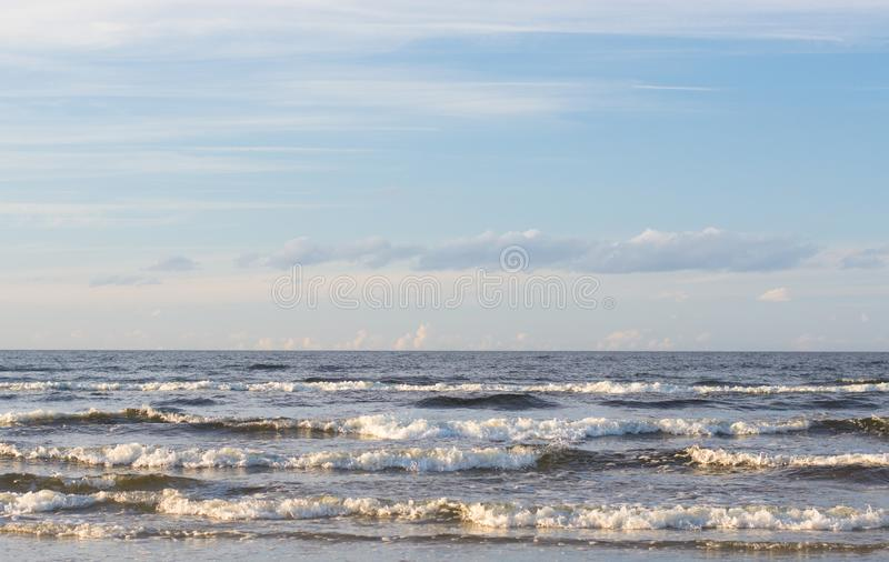 Letni dzień na seashore zdjęcia stock