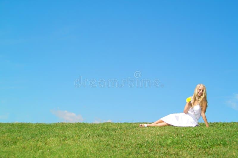 letnie dziewczyny fotografia stock