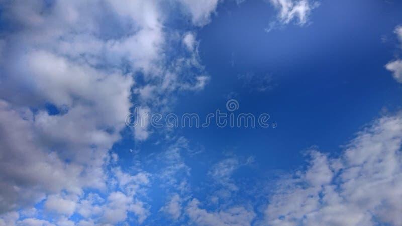 Letnie Niebieskie Chmury I Odcienie zdjęcie royalty free