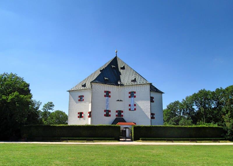Letohrá dek Hvě zda - het Paleis van de de Sterzomer van de Stervilla royalty-vrije stock fotografie