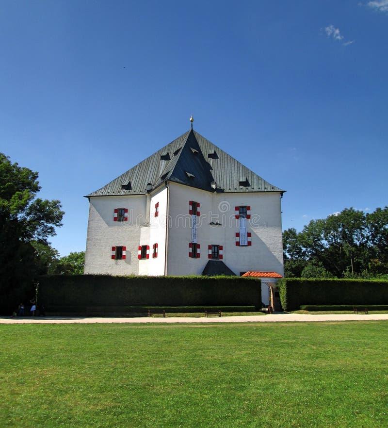 Letohrá dek Hvě zda - het Paleis van de de Sterzomer van de Stervilla royalty-vrije stock foto