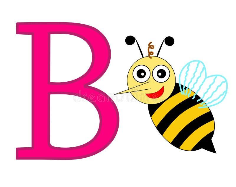 Letra B stock de ilustración