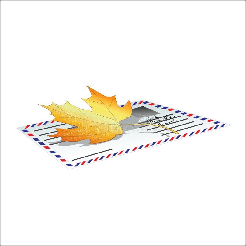 Letra del otoño libre illustration
