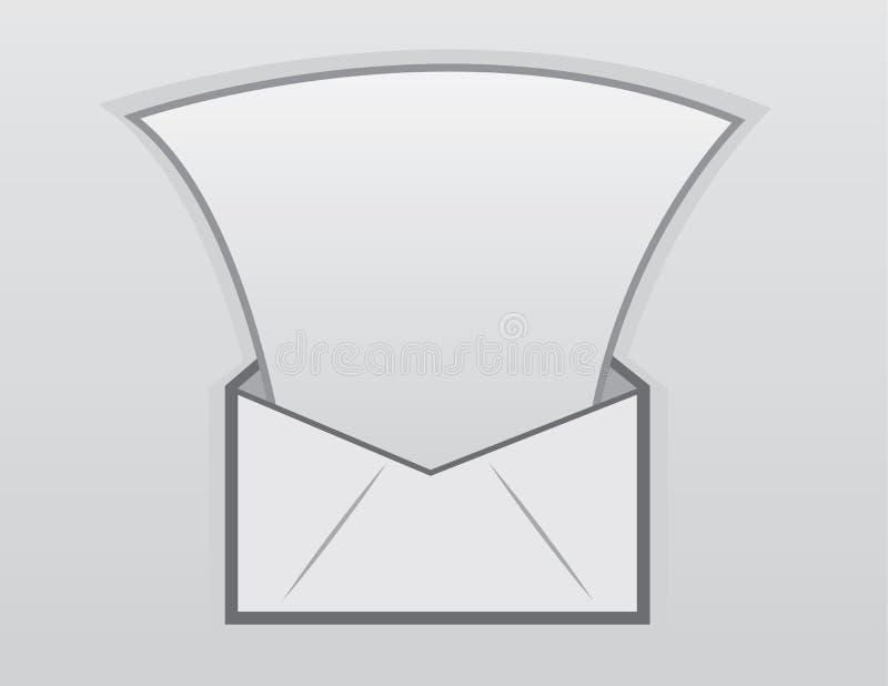 Letra del sobre libre illustration