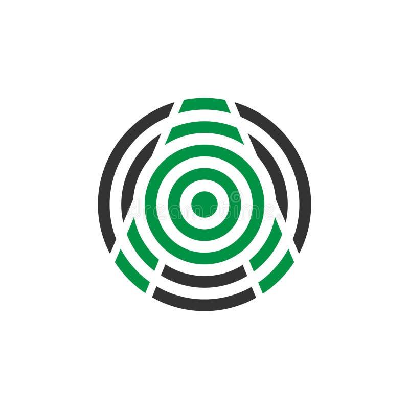 Letra do mosquito do sumário da ilustração do vetor um projeto do logotipo do ícone ilustração royalty free