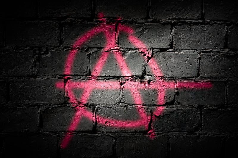Letra A do punk imagens de stock