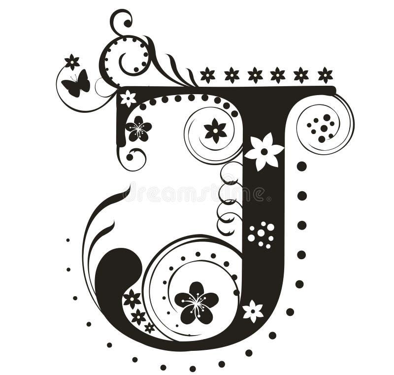 Letra J libre illustration