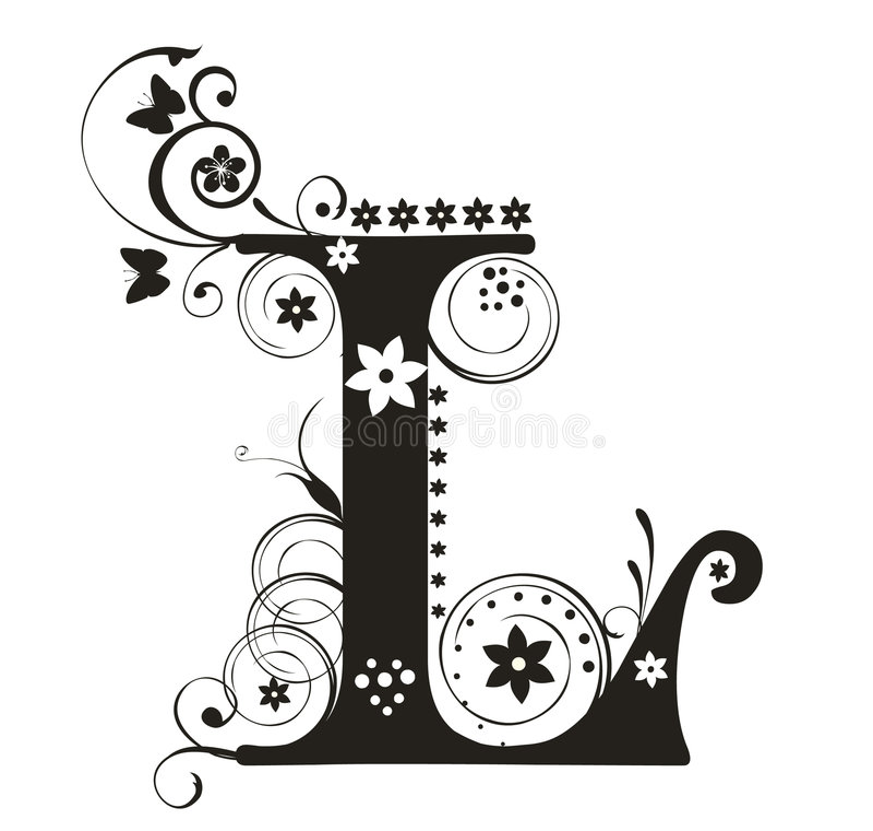 Letra L libre illustration