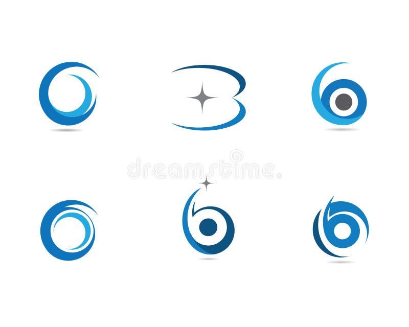 Letra Logo Business de B ilustração do vetor