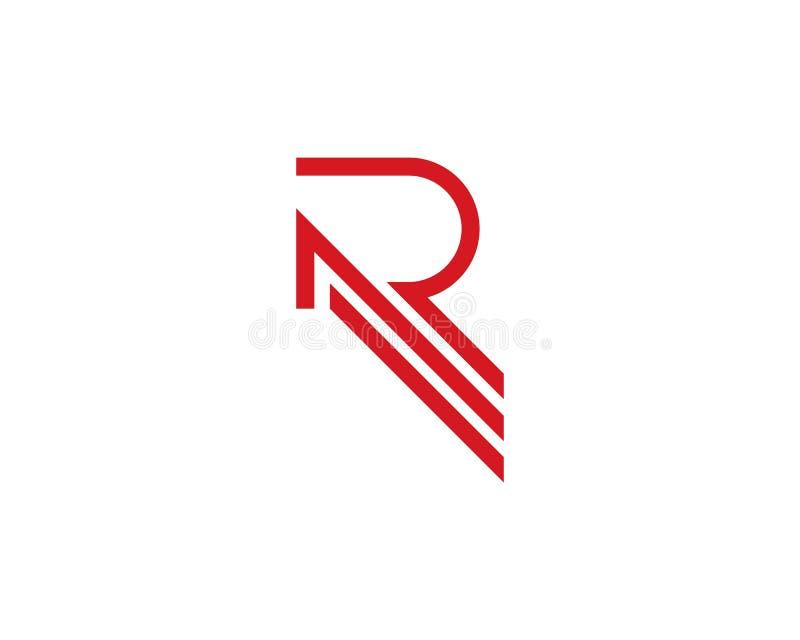 Letra Logo Business de R ilustração stock