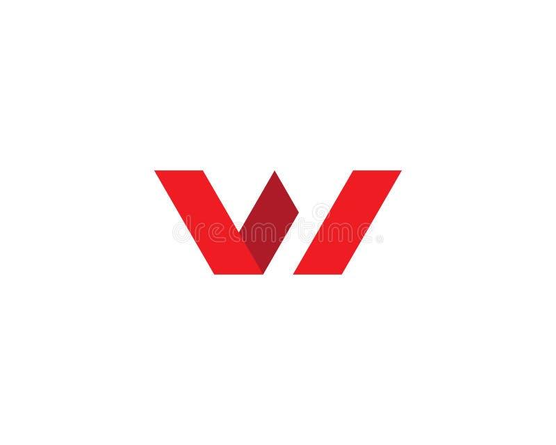Letra Logo Business de W ilustração stock