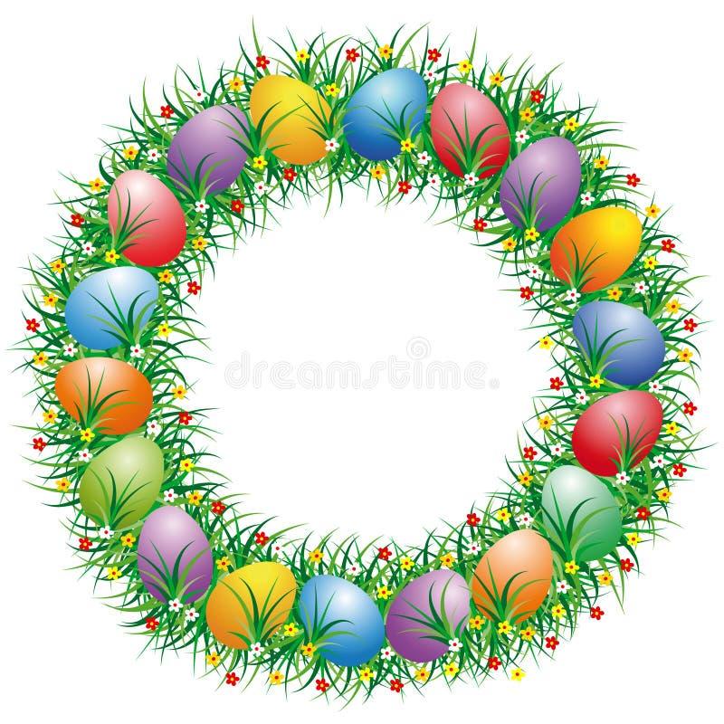 Letra O de Pascua ilustración del vector