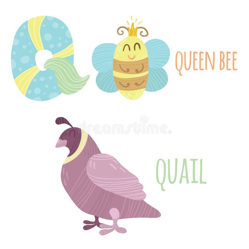 Letra Q libre illustration
