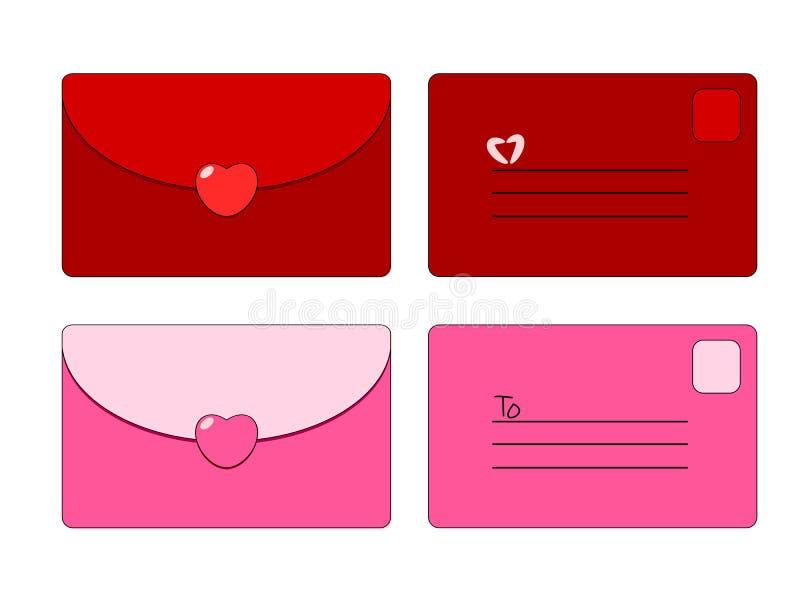 Letra vermelha   ilustração stock