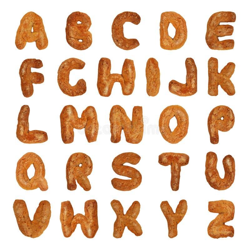 Letras britânicas do alfabeto imagens de stock