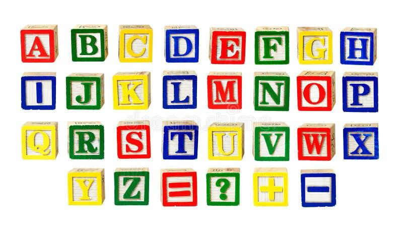 Letras del juguete imagen de archivo libre de regalías