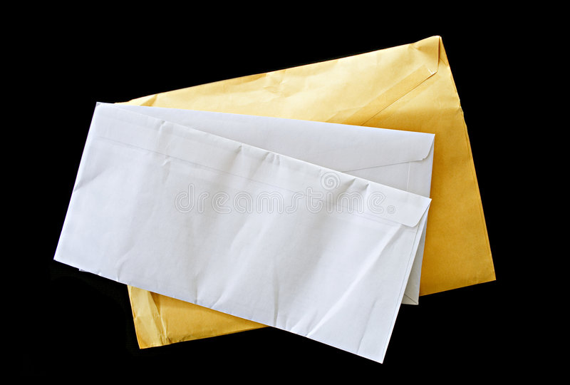 Letras do correio imagens de stock