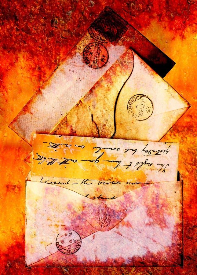 letras dos 1860s imagens de stock