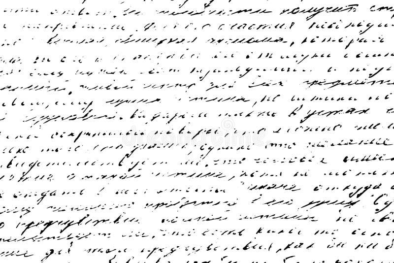 Letras ilegibles de la escritura del grunge del fondo Ilustración del vector eps10 fotografía de archivo