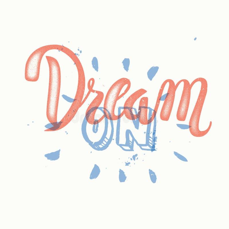Letras pintadas a mano 'grandes' ideales del cepillo libre illustration