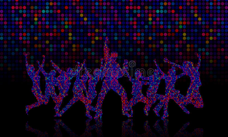 Download Lets Dance stock image. Image of disco, dancing, ball - 24309637