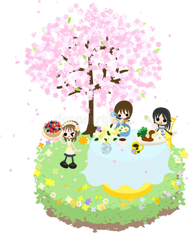 Cafe of the Cherry Blossom-2