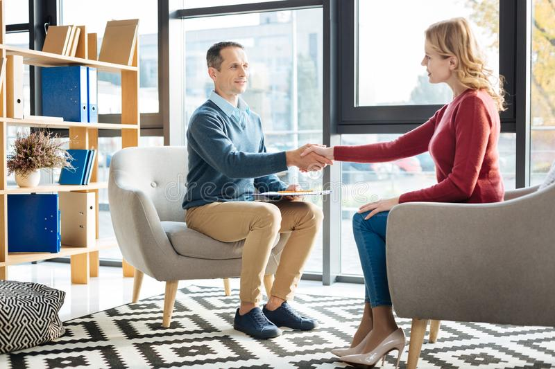 Nice positive people shaking hands stock image image of handshake download nice positive people shaking hands stock image image of handshake practice 103384129 m4hsunfo