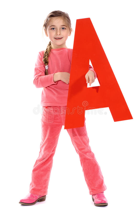 Letter royalty free stock image