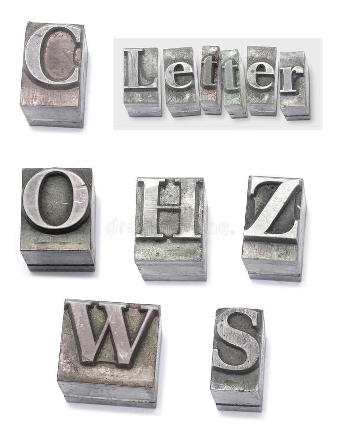 Download Letter stock image. Image of cast, gutenberg, movable, printshop - 453437