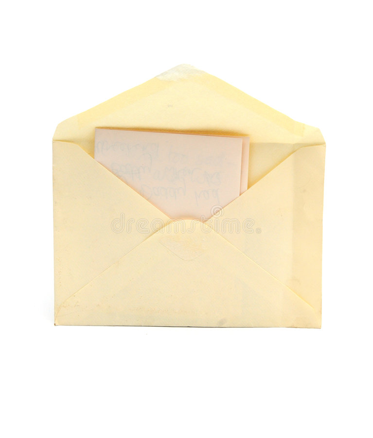 Free Letter And Envelope Stock Images - 6487874