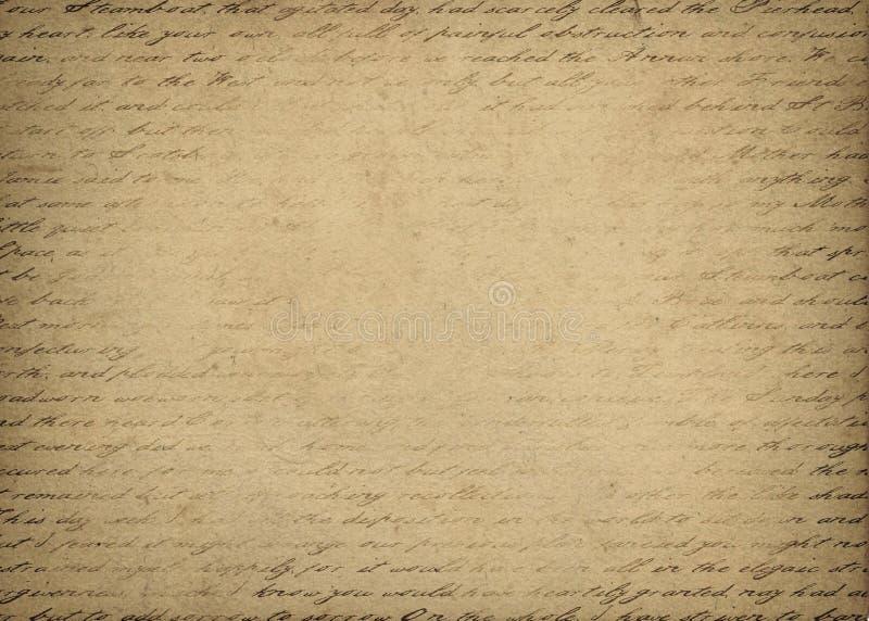 Letter bakgrund royaltyfri illustrationer