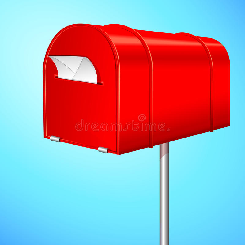 Letter Box royalty free illustration