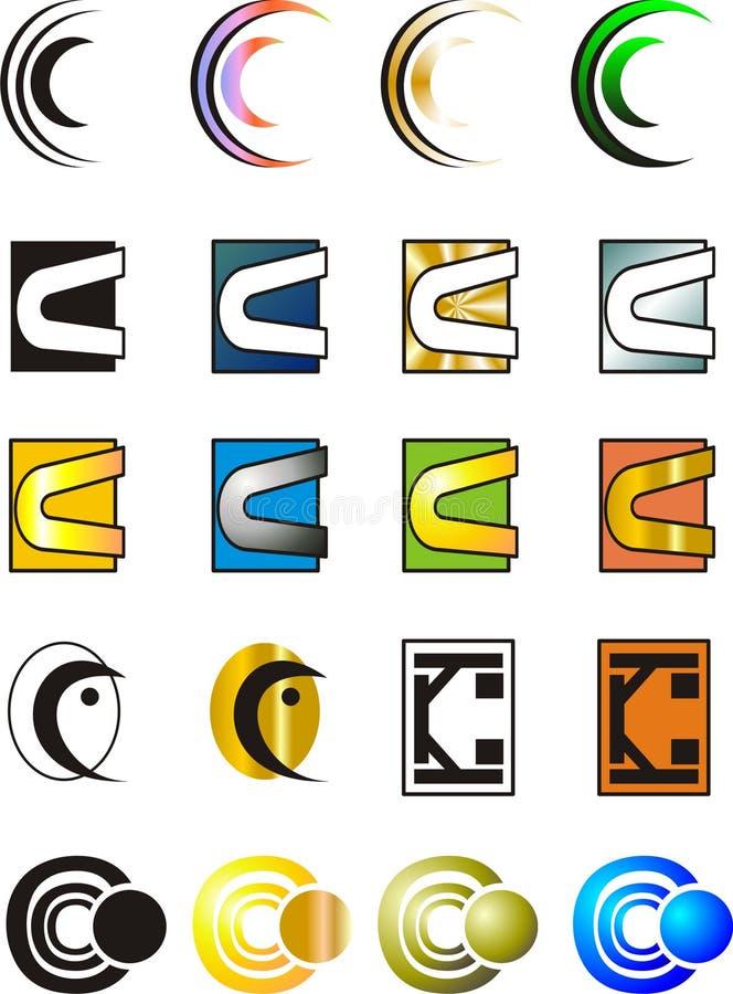 Letter C Logo Stock Vector  Illustration Of Design