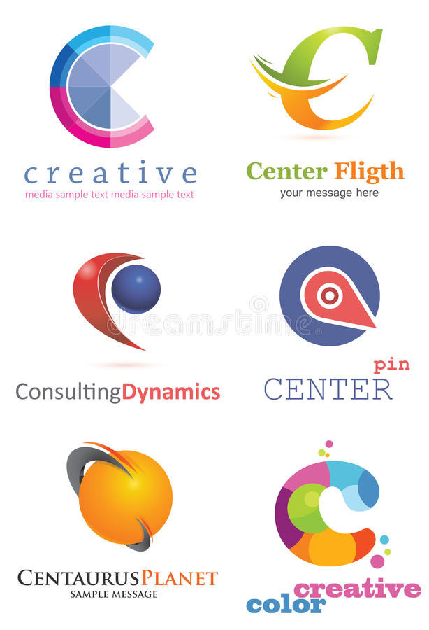 Letter C Logo vector illustration